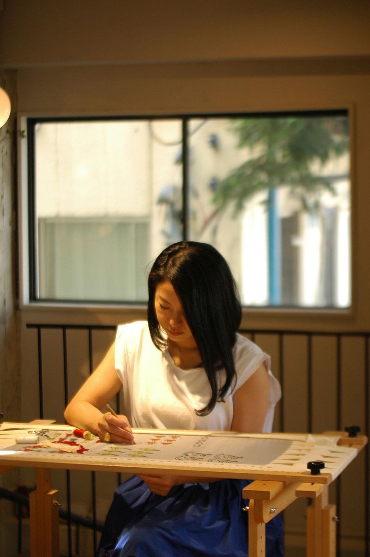 小林モー子さんの「メダイユ」