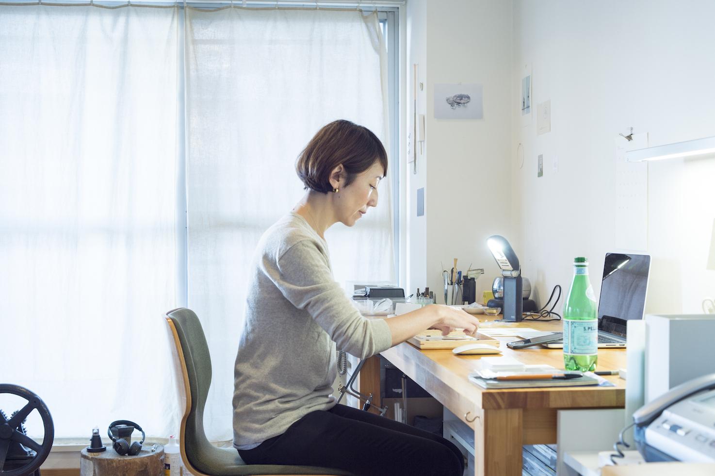 《 jaren 》佐々木史恵のブローチピン - コラム