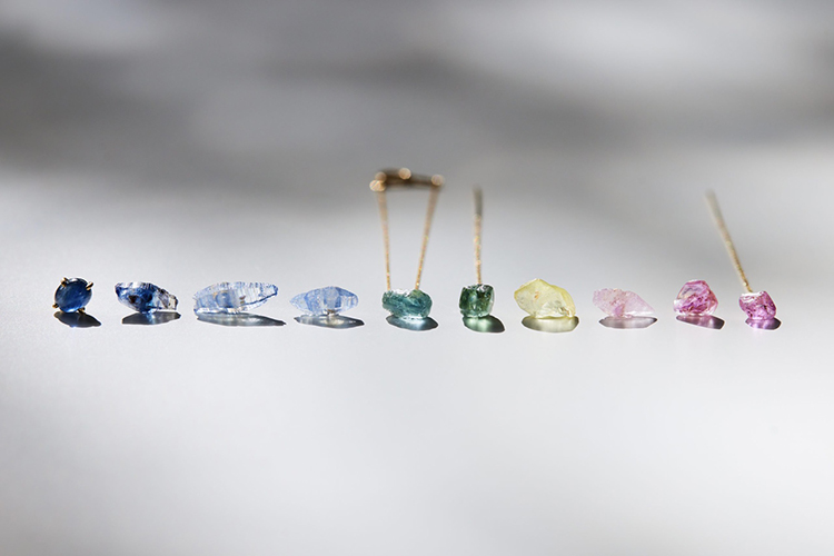 世界各地より厳選された《bororo》の天然石サファイア – CULET伊勢丹新宿店